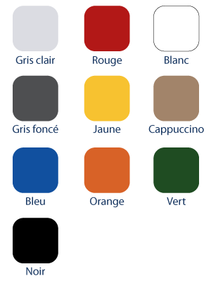 Gamme de couleurs Whaly Boats France